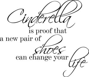 -font-b-Cinderella-b-font-is-proof-Life-Cute-Decor-vinyl-font-b-wall-b