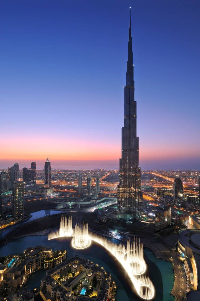 The Burj Khalifa - Image from Harpers Bazaar.