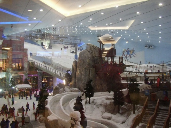 The Dubai Ski Park. Image  found on thechive.com