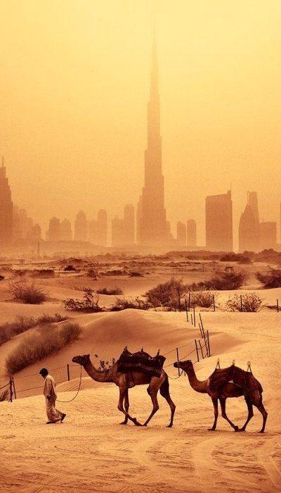 The desert of Dubai. Image from 99traveltips.com