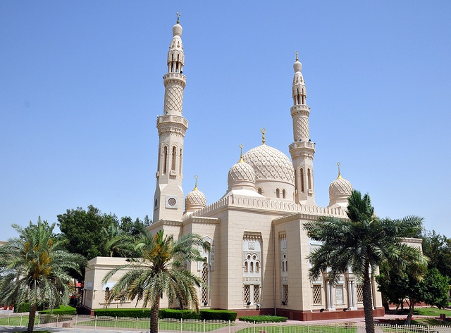 Jumeirah Mosque. From Flickr.com
