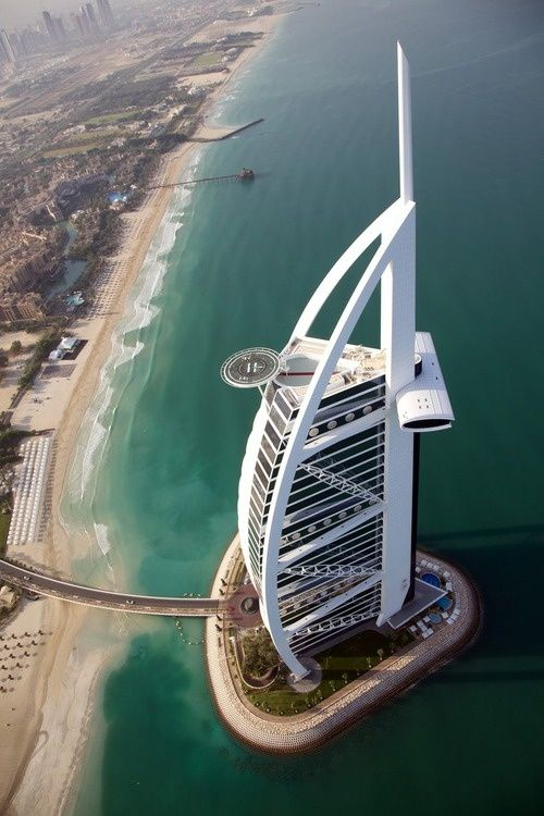Burj Al Arab - Image found on homedit.com