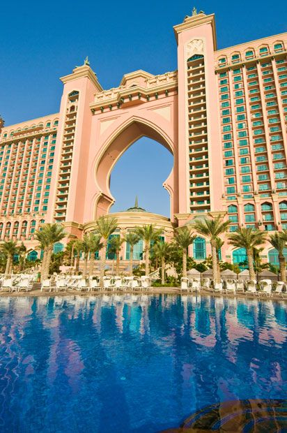 The Atlantis Dubai. Image found on telegraph.co.uk