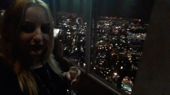 Champagne on the 69th floor!