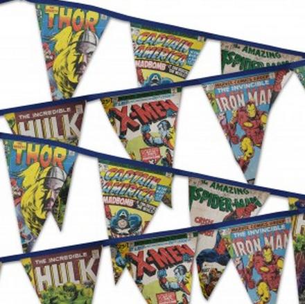 Marvellous Marvel Bunting - £10