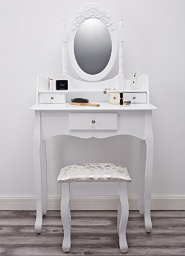 Paddington-AGTC0011-Dressing-Table-with-Stool-Mirror-White-Vanity-0-3
